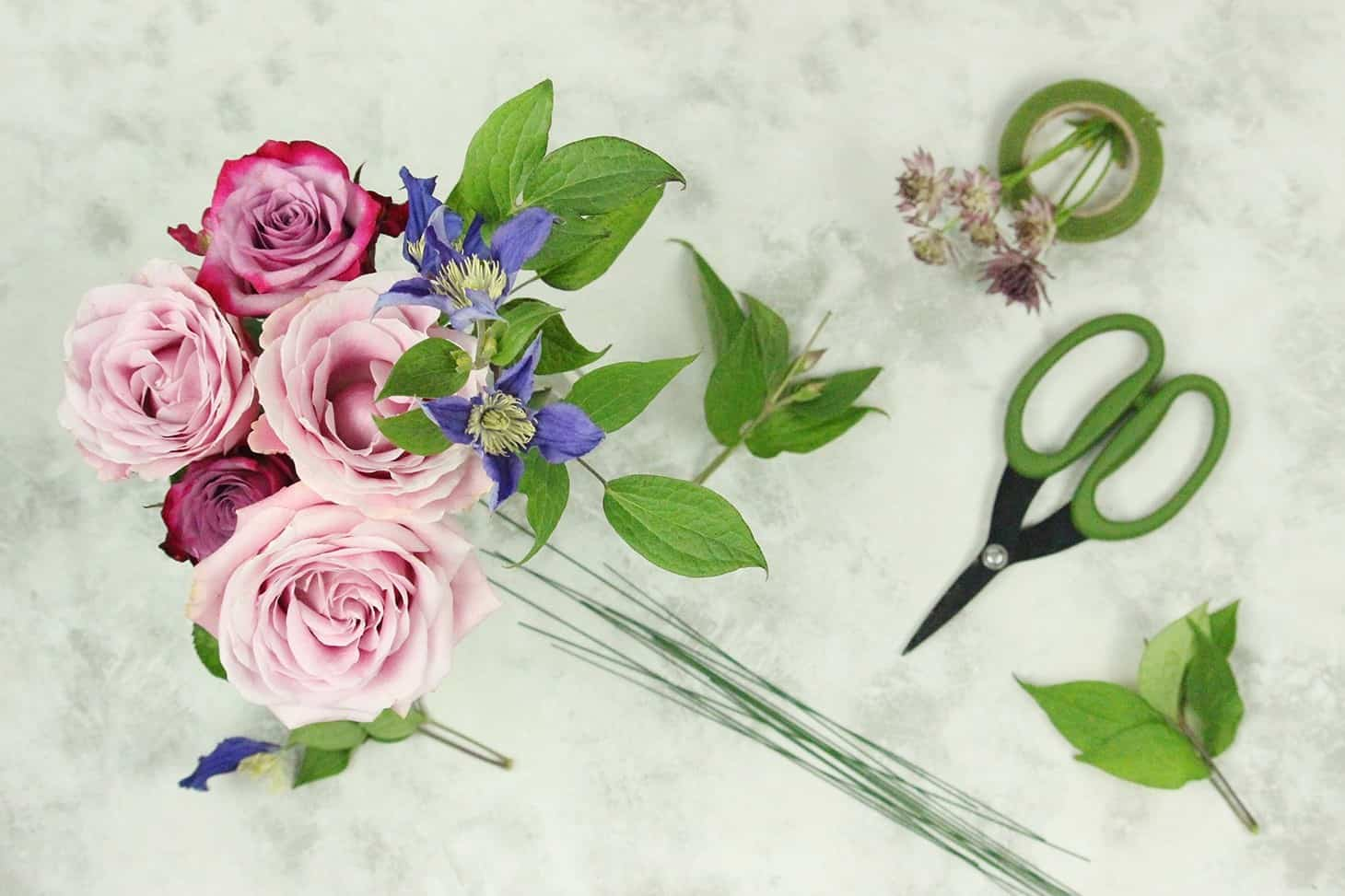 You will need for boutonniere, boutonniere DIY